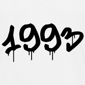 Graffiti : 1993 T-shirts - Herre-T-shirt