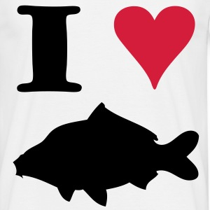 I Love Carpfishing ! - T-shirt Homme