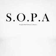 Design ~ SOPA Funny Shirt - Long Sleve