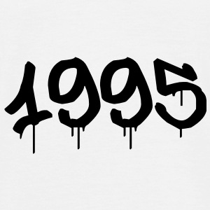 Graffiti : 1995 T-shirts - Herre-T-shirt