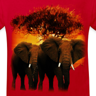 Motif ~ T shirt enfant éléphants