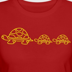 turtle_family T-Shirts - Frauen Bio-T-Shirt