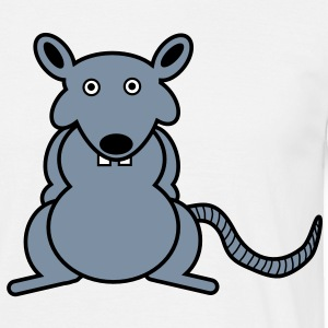 Rat T-shirts - Mannen T-shirt