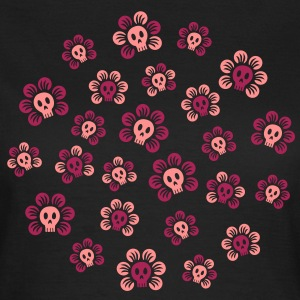 Skulliflowers T-Shirts - Frauen T-Shirt