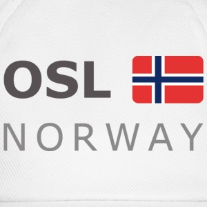 Base-Cap OSL NORWAY dark-lettered  - Baseballkasket