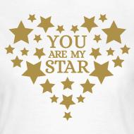 Ontwerp ~ You are my star - Goud fijn glitter
