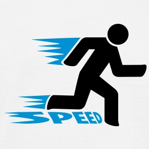 speed T-shirts - Herre-T-shirt