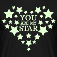 Ontwerp ~ You are my star - Glow in the dark