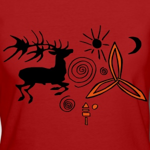 Ancient signs T-Shirts - Frauen Bio-T-Shirt