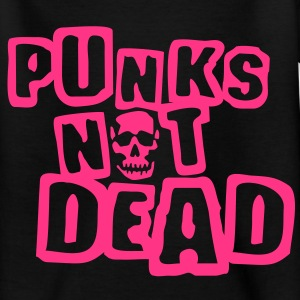 punks_not_dead_weiss_1c Tee shirts Enfants - T-shirt Ado