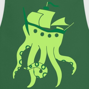 Shiptopus (vector)  Aprons - Cooking Apron