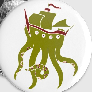 Shiptopus (pixel) Buttons - Buttons large 56 mm