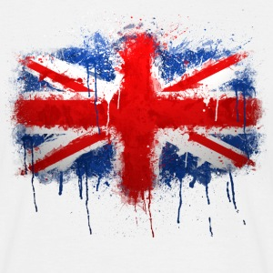Union Jack - Graffiti - Men's T-Shirt