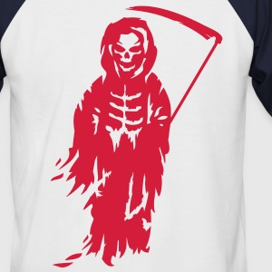A Grim Reaper - Death with a scythe T-Shirts - Men's Baseball T-Shirt