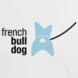 french bulldog - Frauen Kontrast-T-Shirt