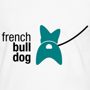 french bulldog - Männer Kontrast-T-Shirt