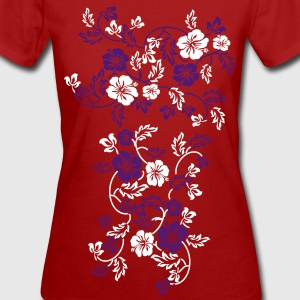 hawaii flower  T-shirts - Vrouwen Bio-T-shirt