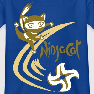 NinjaCat Star - Kids T shirt - Teenage T-shirt