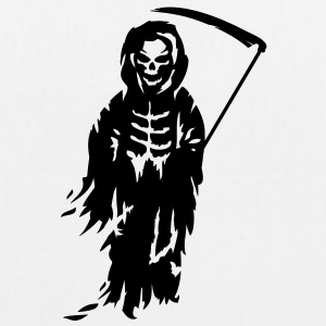 A Grim Reaper - Death with a scythe Bags  - EarthPositive Tote Bag