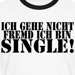single T-Shirts - Männer Kontrast-T-Shirt