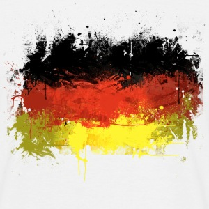 German Flag Graffiti - Men's - Men's T-Shirt