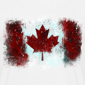 Canadian Flag Graffiti - Men's - Men's T-Shirt