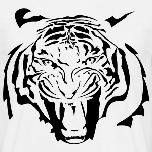 Tiger Tribal Fashion Design by Individual Couture  - Männer T-Shirt