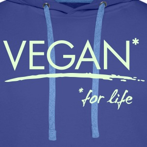 Womens - VEGAN* for life - Männer Premium Hoodie