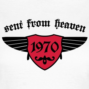 sent from heaven 1970 T-Shirts - Frauen T-Shirt