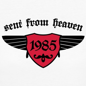 sent from heaven 1985 T-Shirts - Frauen Bio-T-Shirt