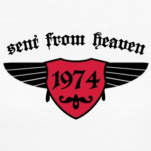 sent from heaven 1974 T-Shirts - Frauen Bio-T-Shirt