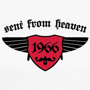 sent from heaven 1966 T-Shirts - Frauen Bio-T-Shirt