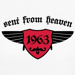sent from heaven 1963 T-Shirts - Frauen Bio-T-Shirt