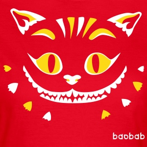 Cat Face (dark backgrounds) - Frauen T-Shirt