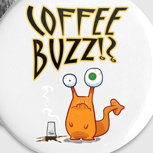 Coffee BUZZ!? Buttons - Buttons large 56 mm