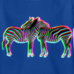 colorful ZEBRAS | Kindershirt - Teenager T-Shirt