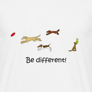 Be different, Männer - Männer T-Shirt
