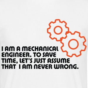 I Am A Mechanical Engineer 5 (dd)++ T-shirt - Maglietta da uomo
