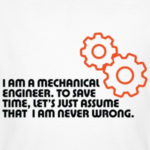 I Am A Mechanical Engineer 5 (dd)++ Tee shirts - T-shirt bio Homme