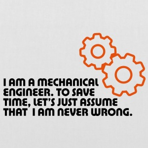 I Am A Mechanical Engineer 5 (2c)++ Väskor - Tygväska