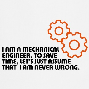 I Am A Mechanical Engineer 5 (2c)++ Fartuchy - Fartuch kuchenny