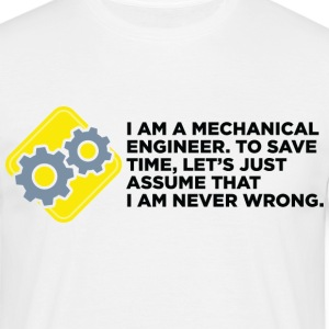 I Am A Mechanical Engineer 4 (dd)++ Koszulki - Koszulka męska