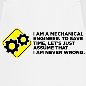 I Am A Mechanical Engineer 4 (2c)++ Forklær - Kokkeforkle