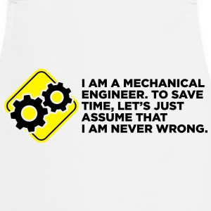 I Am A Mechanical Engineer 4 (2c)++ Fartuchy - Fartuch kuchenny