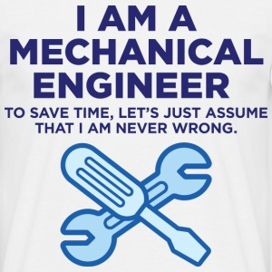 I Am A Mechanical Engineer 3 (dd)++ T-Shirts - Men's T-Shirt