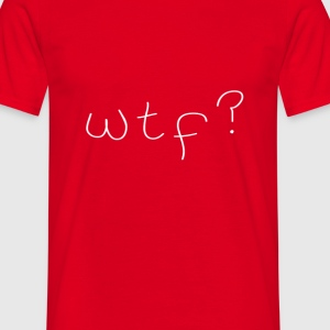 D.F.A. Designs - wtf? - Men's T-Shirt