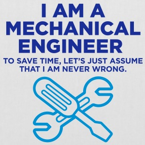 I Am A Mechanical Engineer 3 (2c)++ Vesker - Stoffveske
