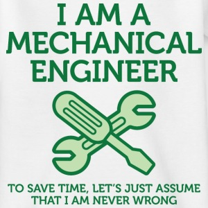 I Am A Mechanical Engineer 2 (dd)++ Barneskjorter - T-skjorte for tenåringer