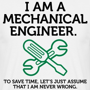 I Am A Mechanical Engineer 2 (2c)++ Tee shirts - T-shirt Homme