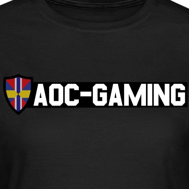 AOC-Gaming T-shirt DAM Svart